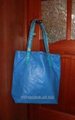 Fashionable blue bag
