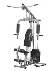 HG 2082 fitness station (3 places, bars and
