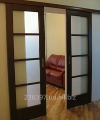 Межкомнатные двери под ключ (Ольха, ясень, сосна,