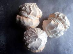 Marenga meringue. We are producers of meringue in