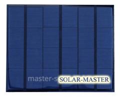 Солнечная мини-панель 3,5 Вт 6 Вольт.