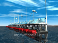 Innovation: Wave power installation of Temchuk