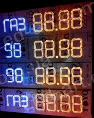 LED board for LED-ART-Stela-250-19+ gas Station,