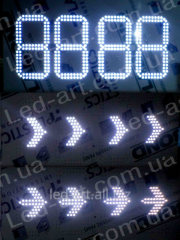 LED board for a gas stele of LED-ART-Stela-300-16,