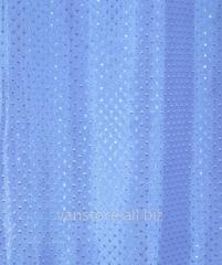 Шторка для душа Vanstore арт  600-35 Star Голубая