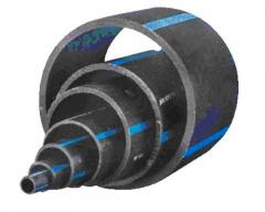 Pipes PE 100 SDR 26 brands, pressure head from