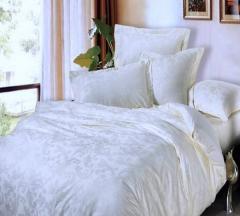Bed linen sateen Jacquard Frantsuzhenka