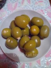 The olives stuffed with almonds