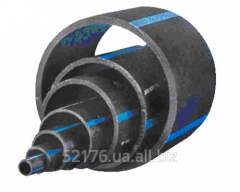 Pipes PE 100 SDR 11 brands (16 atm), pressure head