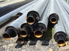 Pipe steel in SP_RO to a cover