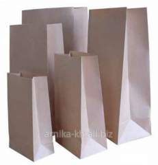 Paper packages: packages sachets, packages of the