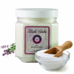 Bath salt with microhydrin. Bath Salts with