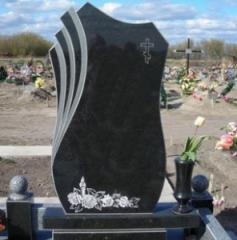 Single monuments to order granite