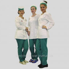 Surgical clothes, dressing gowns for medical