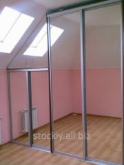 Mirror sliding wardrobe