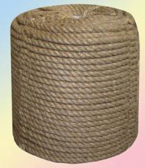 Ropes jute 3mm-50mm. Delivery from Kiev across