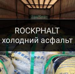 Cold ROCKPHALT asphalt of 25 kg