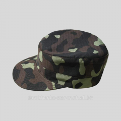 The cap is military, head wears of military