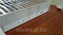 Двуспальная кровать с шуфлядами