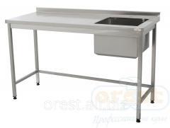 Table with bathtub washing (welded) Orest SVM-1,1N