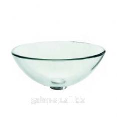 Стеклянный умывальник для ванной Crystal