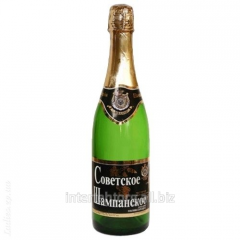 "Semisweet sparkling wine ""Sovestky"