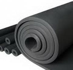 Изоляция каучуковая в рулоне Kaiflex, толщина 25мм, производство Германия, размер рулона (1х8м)