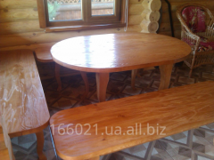 Мебель для бани, сауны, садовая мебель из натурального дерева