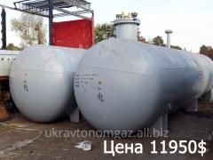 Capacity for propane-butane, 25 cubes,