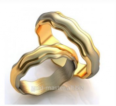Wedding rings 249th model