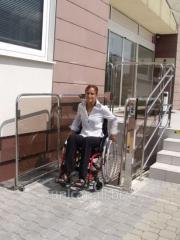 Безбарьерная вертикальная подъемная платформа для инвалидов