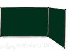 Доски трехповерхностные для школ (мел/комби)