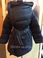 Down-padded coat female ODRI