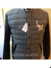 Down-padded coat of man's Moschin