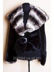 Mala Matti fur coat, mink with chinchilla, the