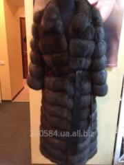 Fur coat sable of Cool