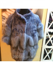 Fur coat female of natural fur, the size 38