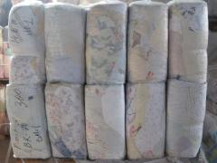 Fibers cotton. Rags. From Kiev delivery across