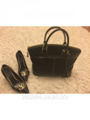 Louis Vuitton set, bag and shoes 38