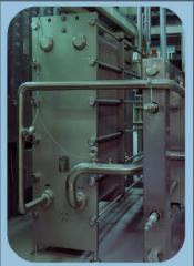 Heat exchangers are folding lamellar