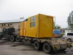 Cabin of EKG-8I of the excavator operator