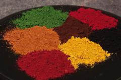Пигменты для красок и строительных смесей
