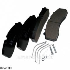Brake shoe 29165 FOMAR Article 29165