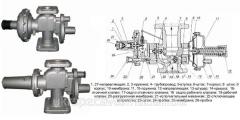 RDK-50/30N gas pressure regulator