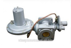The RDNK gas pressure regulator in Ukraine