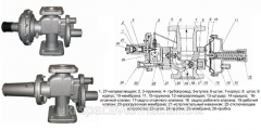 RDSK-50M-1 gas pressure regulator