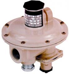 RBE gas pressure regulator