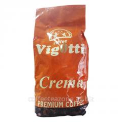Кофе Vigotti Crema coffee 1 кг.
