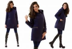 The stylish warmed cashmere coat