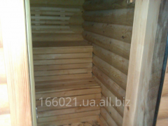 Registration of baths, saunas tree, racks